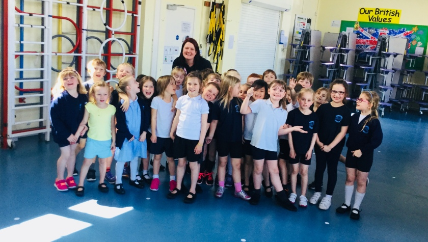 Groove Child Primary Toolkit pilot at Mudeford Infants